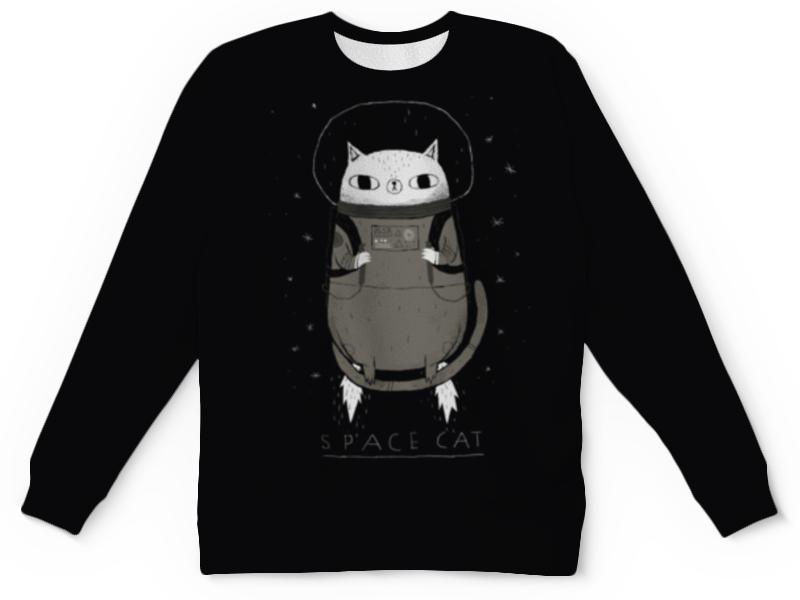Свитшот унисекс с полной запечаткой Printio Space cat свитшот print bar nebula space