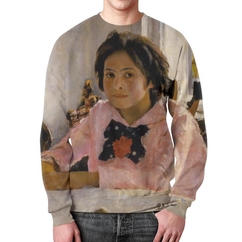 Свитшот мужской с полной запечаткой Printio Девочка с персиками футболка с полной запечаткой мужская printio девочка с персиками