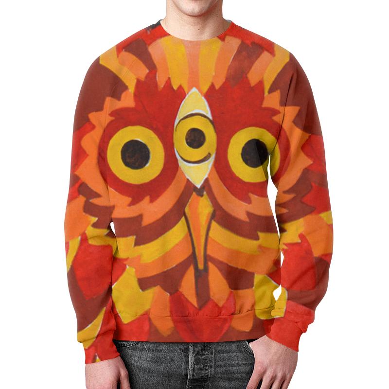 Свитшот унисекс с полной запечаткой Printio Осенняя сова