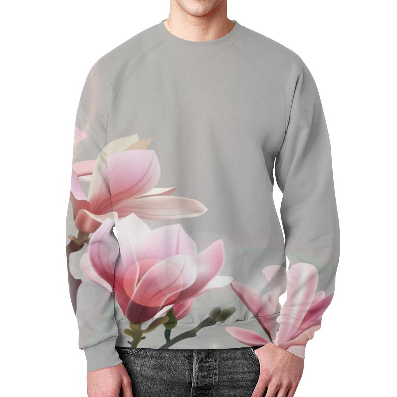 Свитшот мужской с полной запечаткой Printio Spring свитшот унисекс с полной запечаткой printio spring