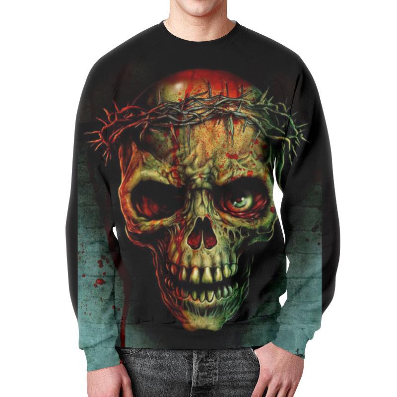 Свитшот унисекс с полной запечаткой Printio Skull свитшот унисекс с полной запечаткой printio evil skull