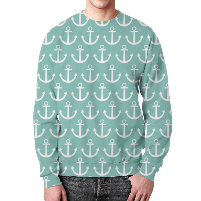 Printio Морское настроение свитшот мужской с полной запечаткой printio новогоднее настроение