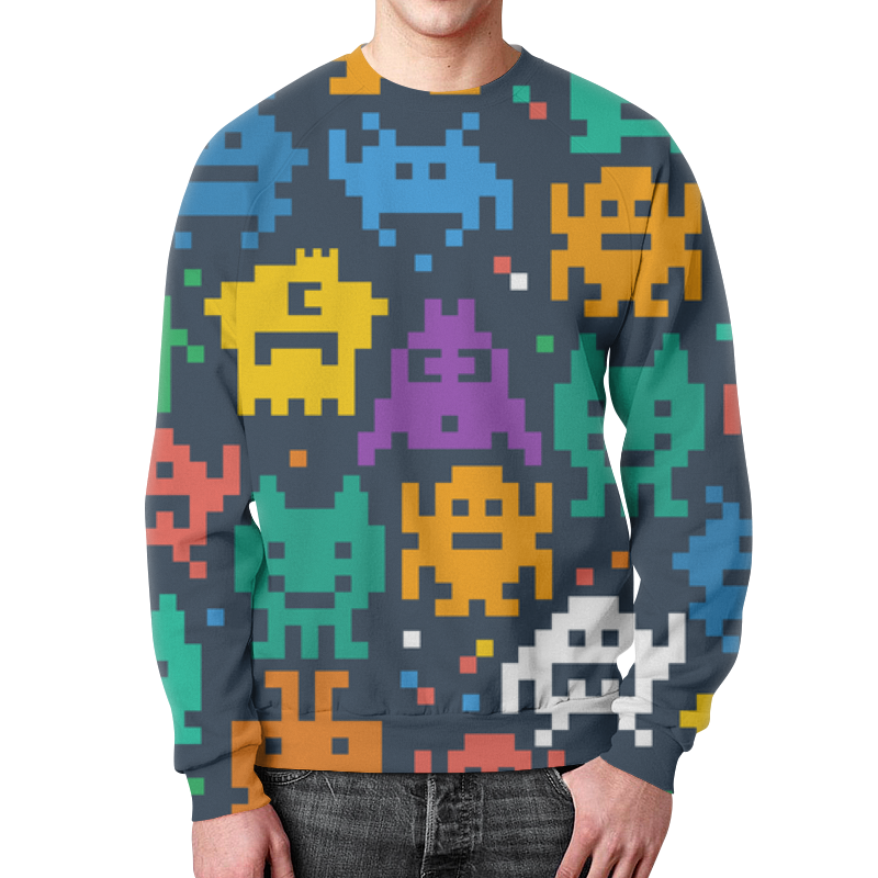 лучшая цена Printio Монстры пиксели