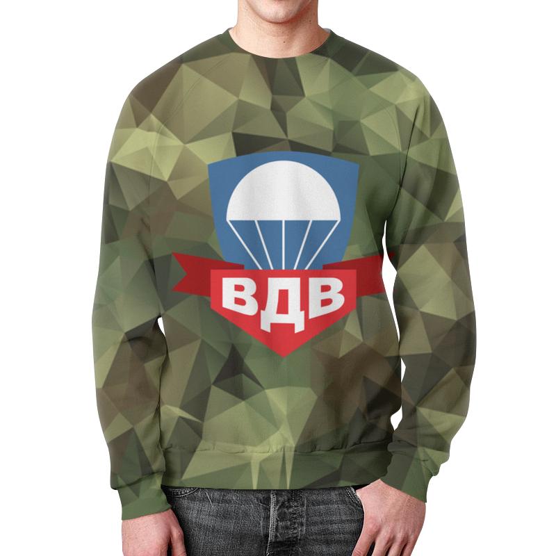Свитшот мужской с полной запечаткой Printio Воздушно-десантные войска play smart элитные войска солдат быстрого реагирования 99 элементов