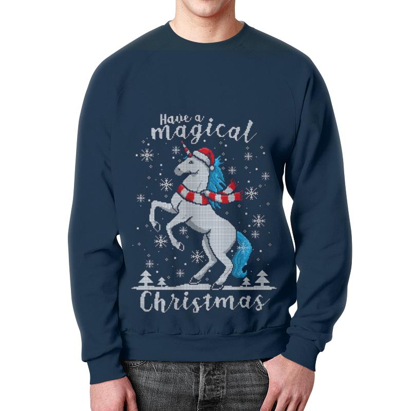Свитшот мужской с полной запечаткой Printio Merry christmas детский свитшот унисекс printio merry christmas