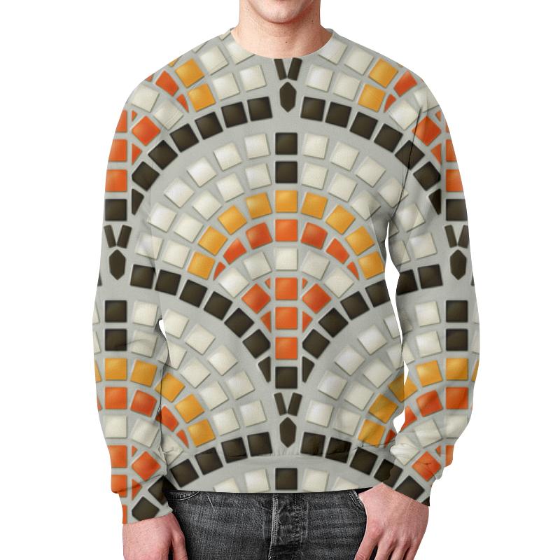 Printio Античная мозаика свитшот мужской с полной запечаткой printio яркая мозаика
