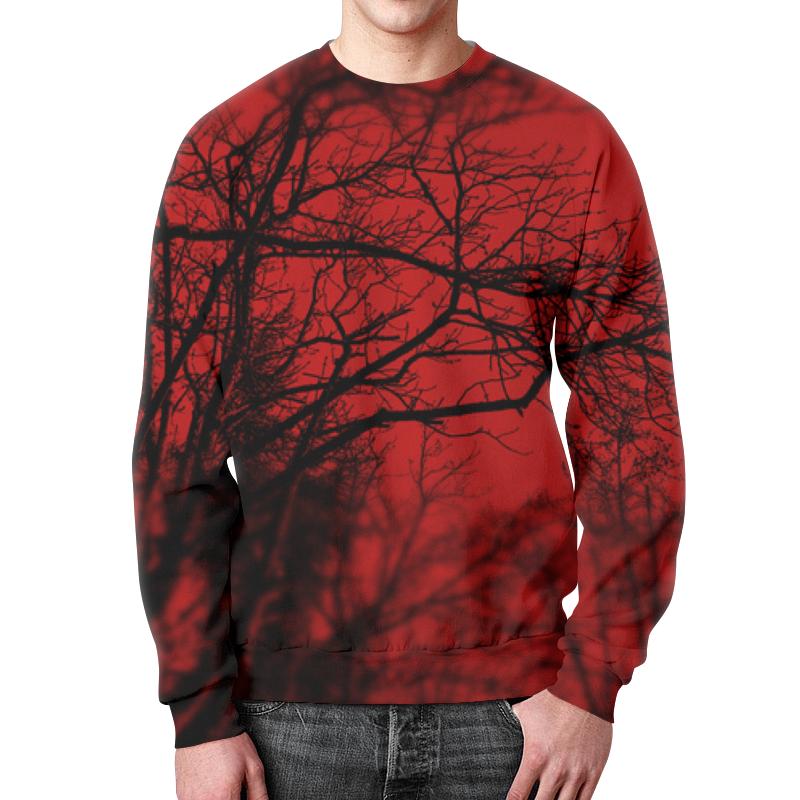 Свитшот мужской с полной запечаткой Printio Деревья