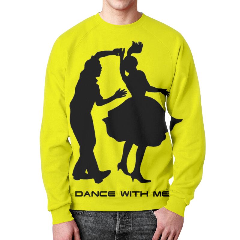Свитшот унисекс с полной запечаткой Printio Dance with me свитер женский billabong dance with me off black