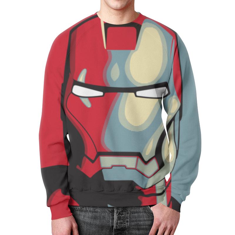 Свитшот мужской с полной запечаткой Printio Iron man цена и фото