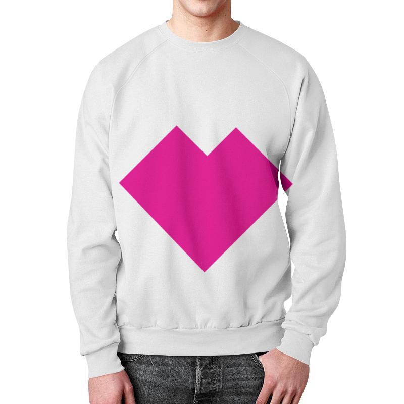Printio Розовое сердце танграм