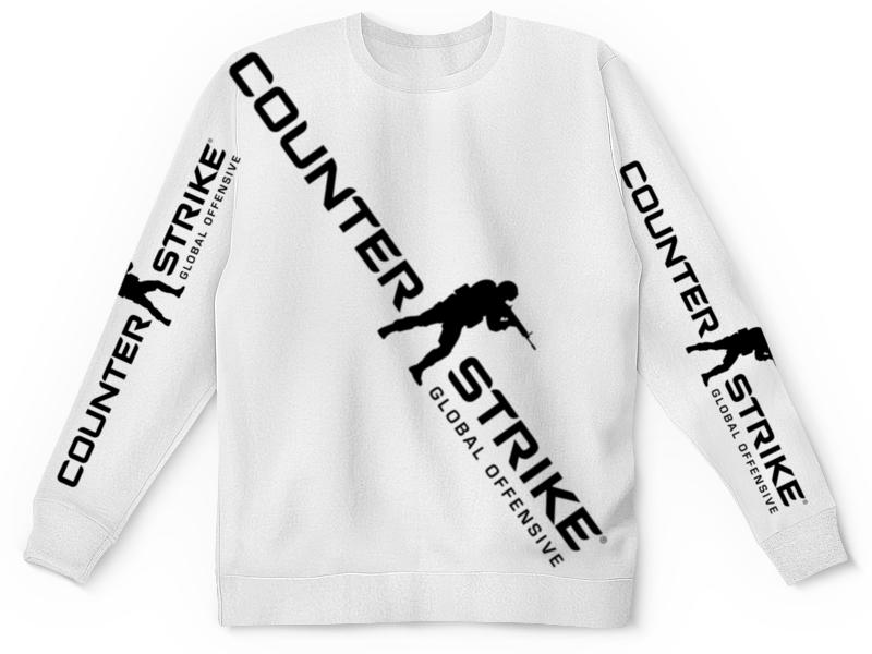 Свитшот унисекс с полной запечаткой Printio Counter strike свитшот унисекс с полной запечаткой printio counter strike global offensive