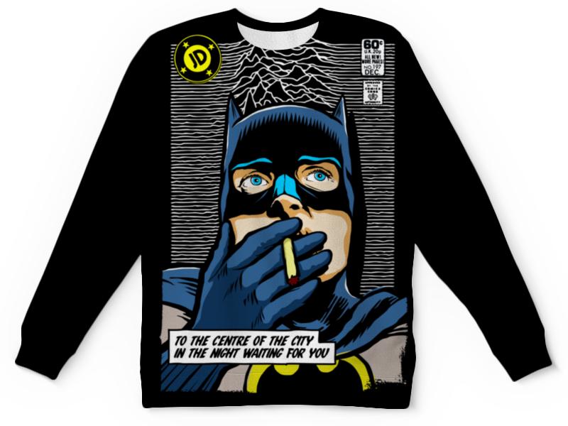 Свитшот унисекс с полной запечаткой Printio Бэтмен свитшот унисекс с полной запечаткой printio леопарды