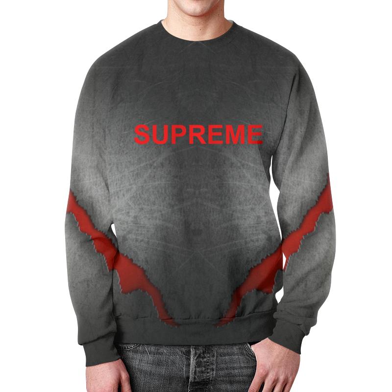Фото - Свитшот мужской с полной запечаткой Printio Supreme свитшот унисекс с полной запечаткой printio алфавит