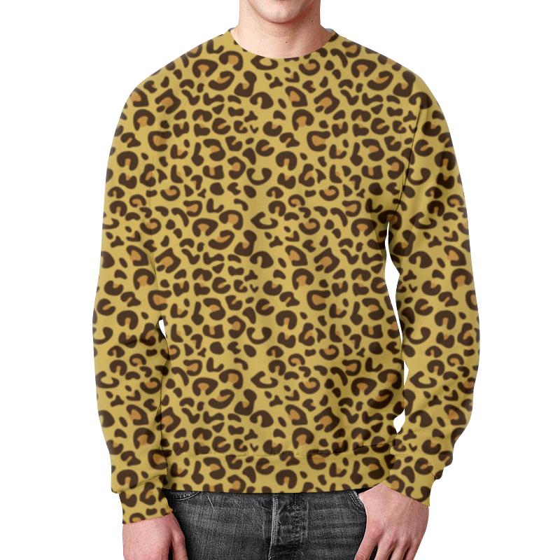 Фото - Свитшот мужской с полной запечаткой Printio Леопардовый сумка с полной запечаткой printio леопардовый