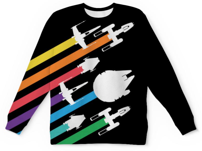 Свитшот унисекс с полной запечаткой Printio Star wars / звездные войны