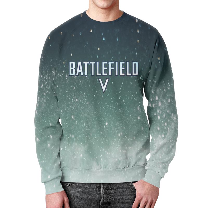 Свитшот мужской с полной запечаткой Printio Battlefield 5 футболка с полной запечаткой женская printio battlefield v