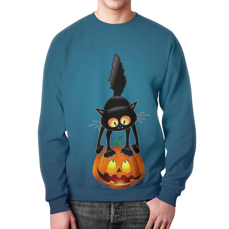 купить Свитшот унисекс с полной запечаткой Printio Halloween по цене 2210 рублей