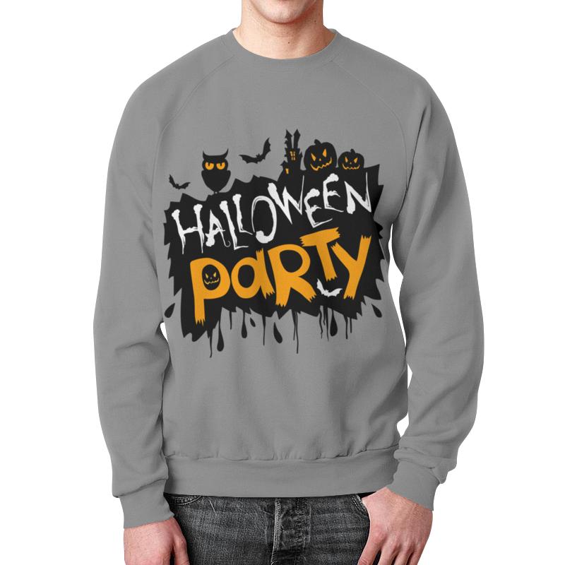 Свитшот мужской с полной запечаткой Printio Halloween цены онлайн