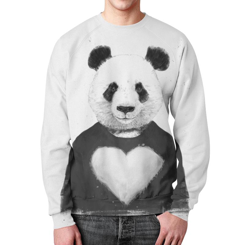 Свитшот унисекс с полной запечаткой Printio Панда детский свитшот унисекс printio панда