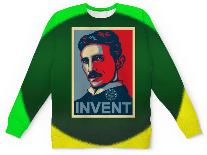 лучшая цена Printio Никола тесла — изобретатель-гений
