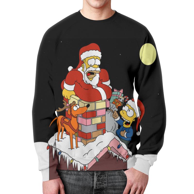 лучшая цена Printio Санта клаус(симпсоны)