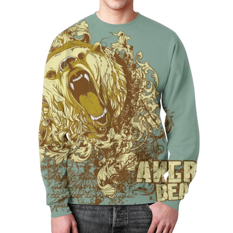 Свитшот унисекс с полной запечаткой Printio Медведь свитшот унисекс с полной запечаткой printio медведи