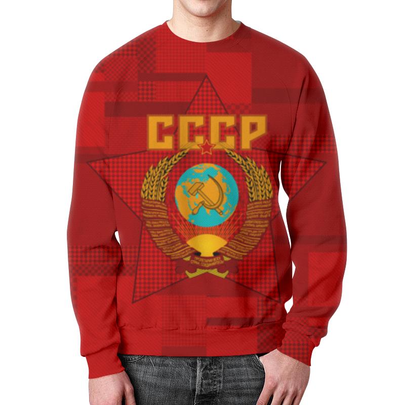 цена на Свитшот мужской с полной запечаткой Printio Советский союз