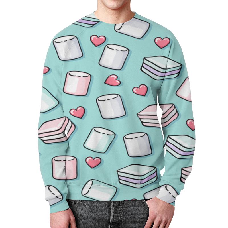 Свитшот мужской с полной запечаткой Printio Воздушный зефир футболка с полной запечаткой для девочек printio воздушный зефир