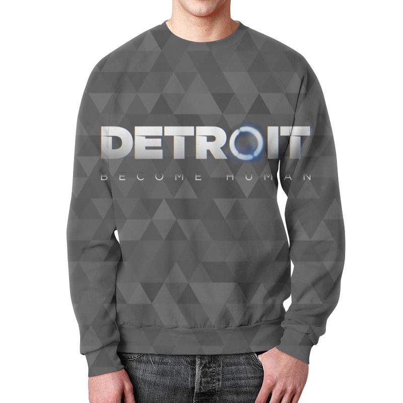 Свитшот унисекс с полной запечаткой Printio Detroit: become human свитшот унисекс с полной запечаткой printio detroit become human