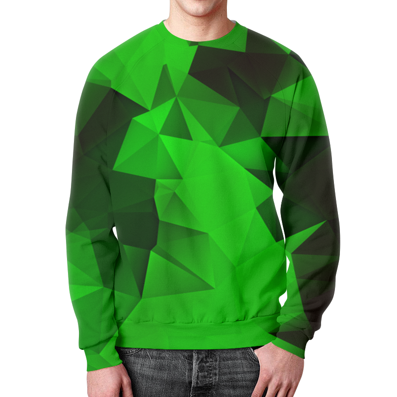 Фото - Printio Зеленые стекла свитшот мужской с полной запечаткой printio зеленые линии
