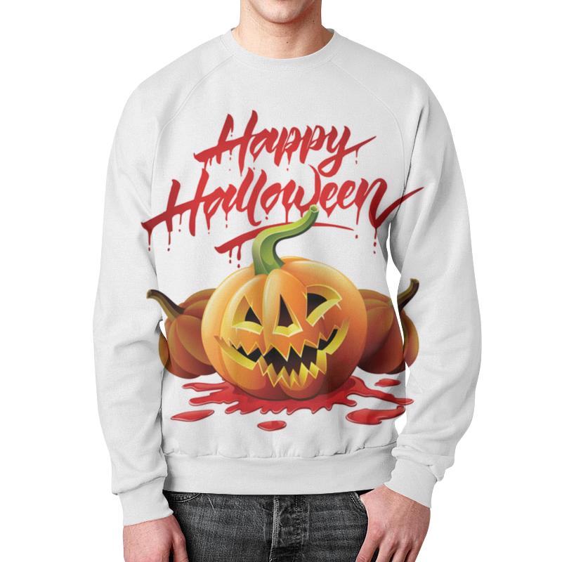 Свитшот мужской с полной запечаткой Printio Happy хеллоуин