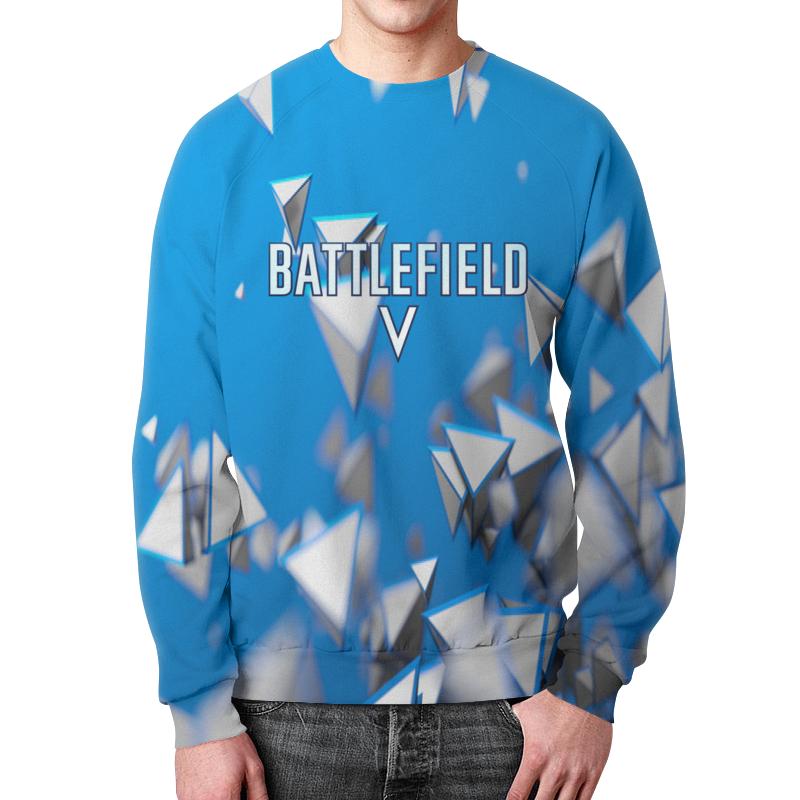 Свитшот мужской с полной запечаткой Printio Battlefield 5 свитшот унисекс с полной запечаткой printio солдат battlefield