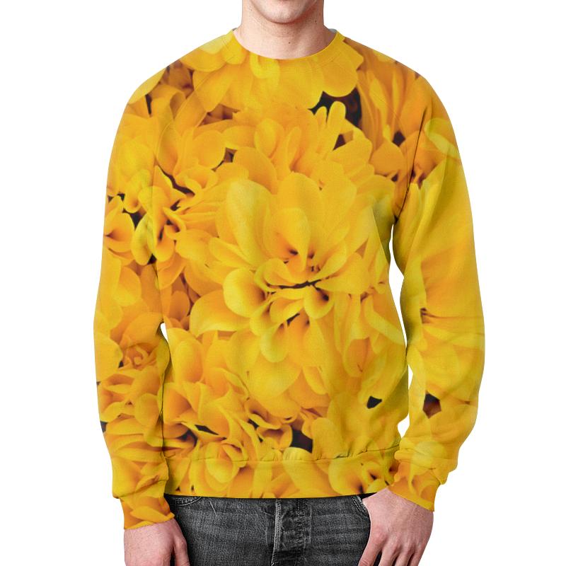 Свитшот унисекс с полной запечаткой Printio Желтые цветы детский свитшот унисекс printio желтые цветы
