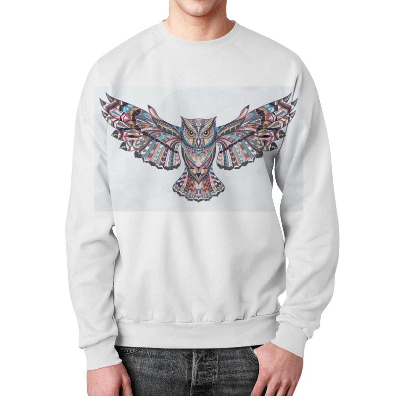 Свитшот мужской с полной запечаткой Printio Night owl свитшот унисекс с полной запечаткой printio night owl