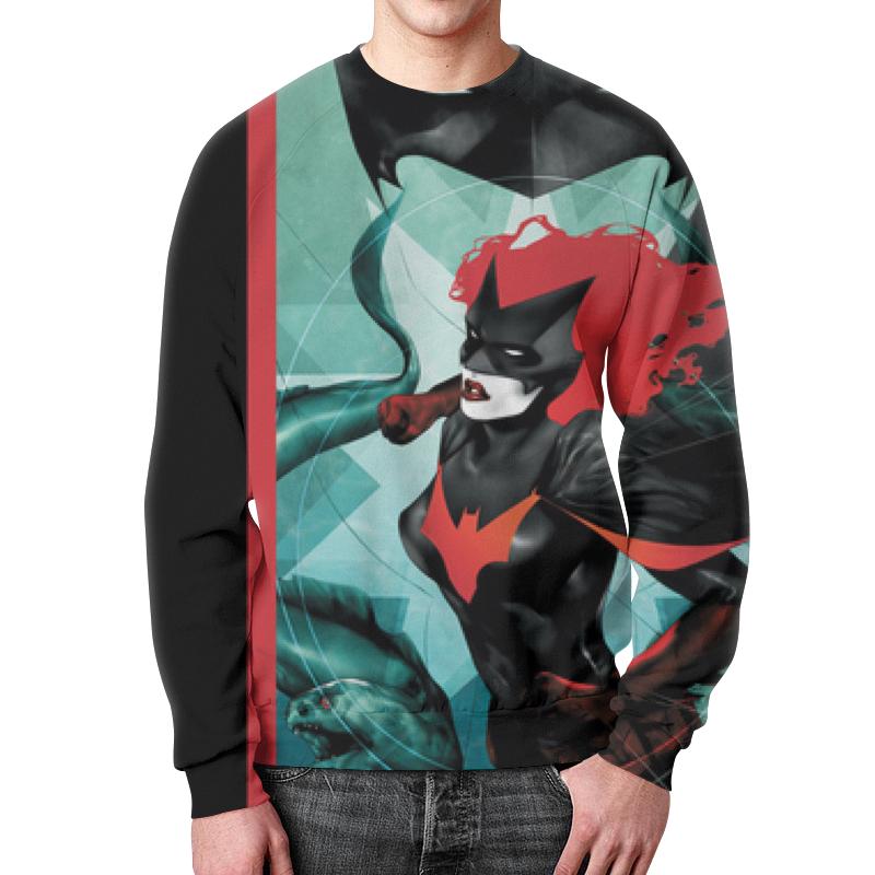 Свитшот унисекс с полной запечаткой Printio Batman свитшот print bar goddamn batman