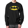 """Свитшот мужской с полной запечаткой """"Бэтмен / Batman"""" - комиксы, batman, джокер, символ"""