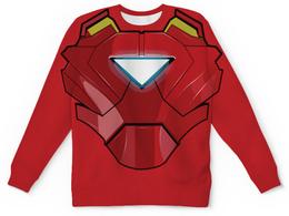"""Свитшот унисекс с полной запечаткой """"Ironman / Железный человек"""" - арт, marvel, avengers, ironman"""