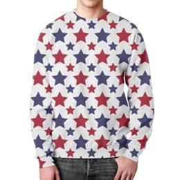 """Свитшот мужской с полной запечаткой """"Stars"""" - арт, стиль, дизайн, графика"""