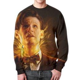 """Свитшот мужской с полной запечаткой """"Доктор Кто (Doctor Who)"""" - doctor who, доктор кто"""