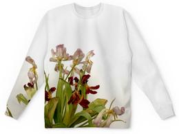 """Свитшот унисекс с полной запечаткой """"Тюльпаны"""" - цветы-любовь"""