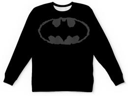 """Свитшот унисекс с полной запечаткой """"Бэтмен"""" - комиксы, бэтмен, dc комиксы"""