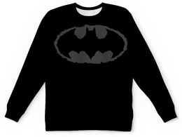 "Свитшот унисекс с полной запечаткой ""Бэтмен"" - бэтмен, комиксы, dc комиксы"