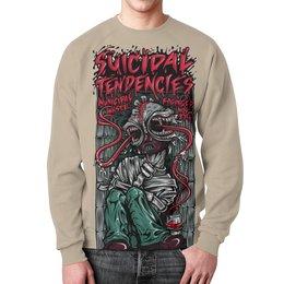 "Свитшот унисекс с полной запечаткой ""Suicidal Tendencies band"" - heavy metal, рок музыка, thrash metal, хеви метал, suicidal tendencies"