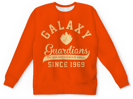 """Свитшот унисекс с полной запечаткой """"Стражи Галактики"""" - комиксы, супергерои, стражи галактики, guardians of the galaxy"""