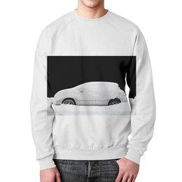 "Свитшот мужской с полной запечаткой ""Sleeping cars"" - зима, снег, fashion, фешн, sleeping cars"