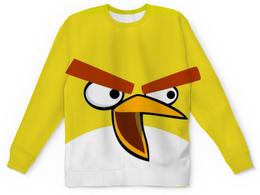 """Свитшот унисекс с полной запечаткой """"ANGRY BIRDS"""" - игры, птички, мульт, angry birds, ангри бердс"""