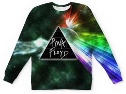 """Свитшот унисекс с полной запечаткой """"Pink Floyd , пинк флойд , музыка"""" - pink floyd, пинк флойд, музыка"""