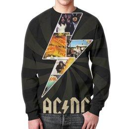 """Свитшот унисекс с полной запечаткой """"AC/DC"""" - ac dc"""