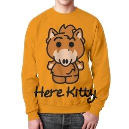 """Свитшот мужской с полной запечаткой """"Hello Kitty"""" - hello kitty, хелло китти"""