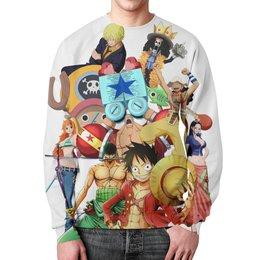 """Свитшот унисекс с полной запечаткой """"One Piece"""" - ван пис, one piece"""